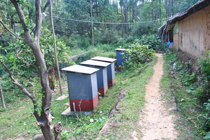 Rest room at Battaramane