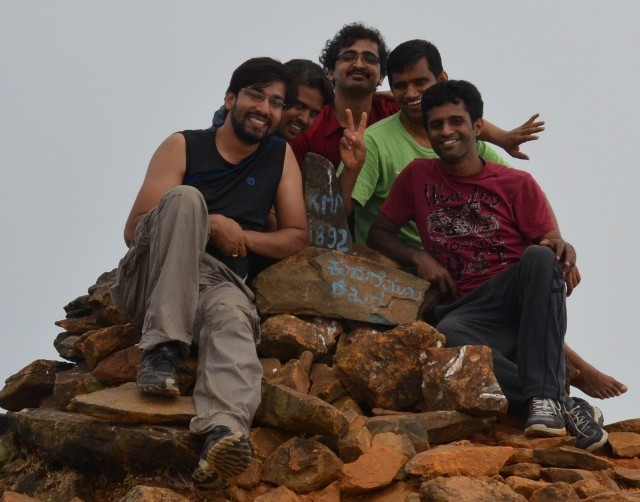 Kudremukh trek team