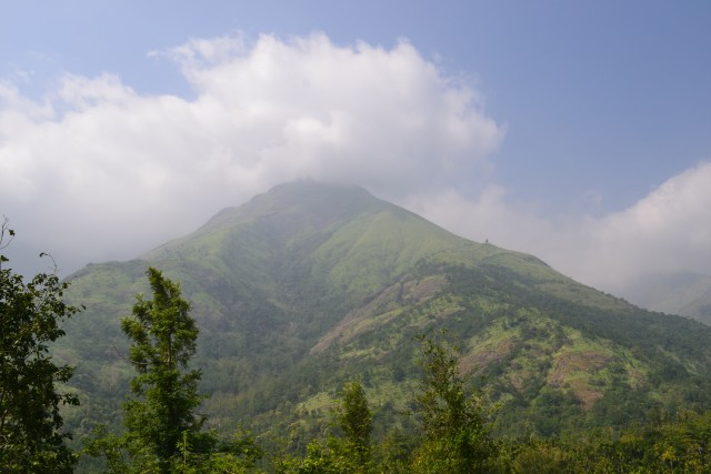Next peak to the top station: Kolukkumalai tea estate peak