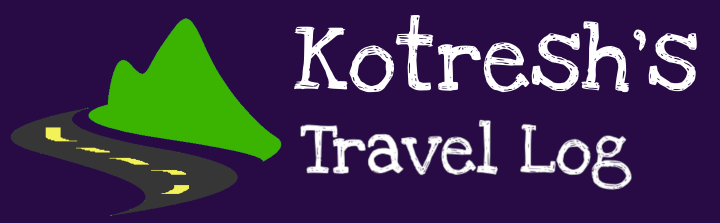 Kotresh's Travel Log